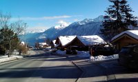 Switzerland, Crans-Montana, New Year 2009 holidays